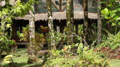 Ancient Structure in PALAU Stock Footage