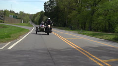 URAL Motorcycle Stock Footage