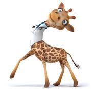 Stock Illustration of Fun giraffe