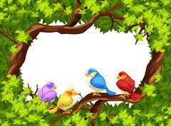 Frame - stock illustration