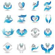 Teeth care Stock Illustration