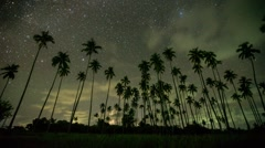 MilkyWay at Maiga Island Stock Footage