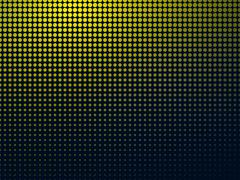 dark background with yellow spots - stock illustration