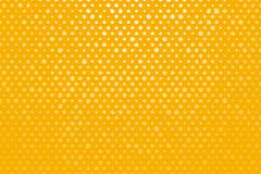Yellow background with white spots - stock illustration