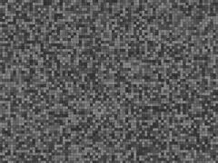 Grainy black checkered background - stock illustration