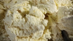 Cottage cheese dough Stock Footage