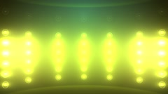 Stage Light Flashing Background Stock Footage