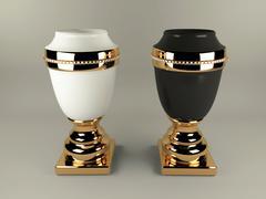 Vase Ahura Arcade 3D Model