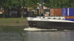 Ship_backwash_slomo Stock Footage