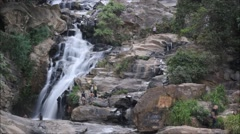 Rawana Falls timelapse Sri Lanka Stock Footage