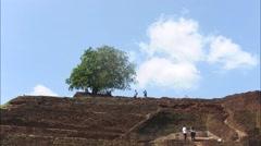 Sigiriya Rock Fortress timelapse. Stock Footage