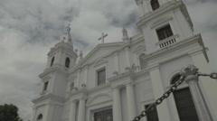 Old Spanish Church Stock Footage