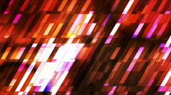 Broadcast Twinkling Slant Hi-Tech Small Bars, Multi Color, Abstract, Loopable,HD Stock Footage