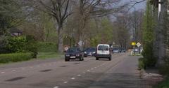 Border Belgium and the Netherlands at Hamont-Achel 4K Stock Footage