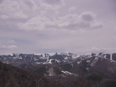 4K static timelapse shot of Olympic Park from Glenwild Loop Trail. Stock Footage