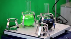 Shaker in laboratory Stock Footage