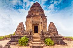 Pre Rup temple, Angkor area, Siem Reap, Cambodia - stock photo