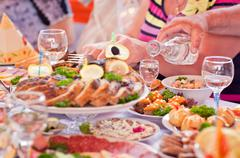 Celebratory meal Kuvituskuvat