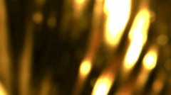 Gold Spinning Abstract Bcakground Texture Stock Footage