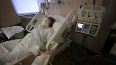 Hospital Patient Stock Footage