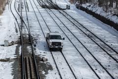 Hi-Rail Vehicle Stock Photos
