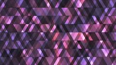 Broadcast Twinkling Hi-Tech Diamonds 05 - stock footage