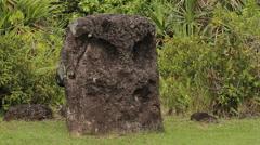 Rai Stones, ancient monuments - PALAU Stock Footage