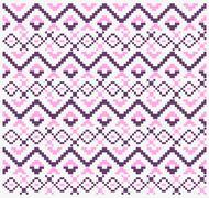 Ethnic tribal sweet pattern Stock Illustration
