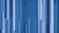 4k blue abstract geometric block motion background modern and sleek Stock Footage