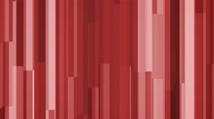 4k red abstract geometric block motion background modern and sleek - stock footage