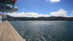 Ferry Ledge Stock Footage