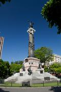 Independence monument column in Guayaquil, Ecuador - stock photo