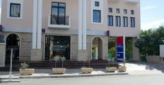 Societe Generale in Cyprus Stock Footage