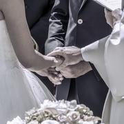 Wedding promise Stock Photos