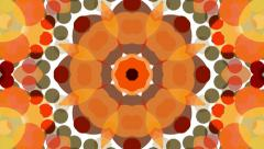 Abstract background animation for your projects. Smooth changing kaleidoscope. S - stock footage