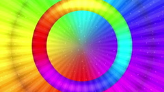 Rainbow background, Seamless Loop - stock footage