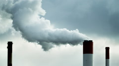 Sign of Carbon dioxide - stock footage