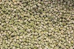 dried peas - stock photo
