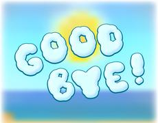 goodbye - stock illustration