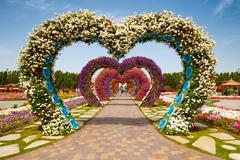 Miracle garden Stock Photos