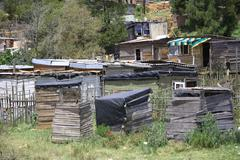 Informal Settlement - stock photo