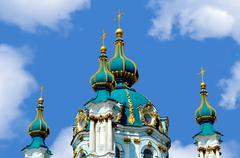 Stock Photo of St Andrew's Church, Kiev