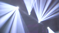 Stage Lights abstract background - stock footage