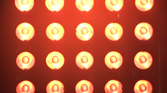 Stage Lights abstract background Stock Footage