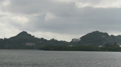 Rock Islands of PALAU Stock Footage