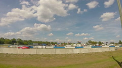 12 hours of Sebring car race at Sebring International Raceway in Sebring, Flo Stock Footage