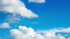 Rolling clouds moving and changing color Stock Footage