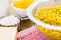 Stock Photo of Macaroni and cheese