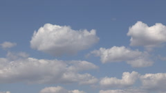 Rolling Clouds Time Lapse Stock Footage