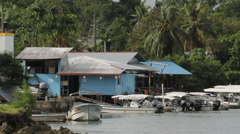 Shacks in PALAU Stock Footage